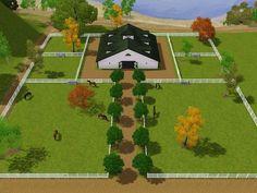 Barn & Pasture layout