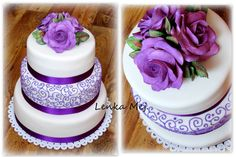 Svatební ve švestkové barvě