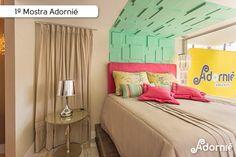 O quarto de verão da designer Hellen Giacomitti.  #MostraAdornie2014 Foto: Nenad - Estúdio Fotográfico