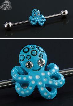 Octopus industrial barbell set