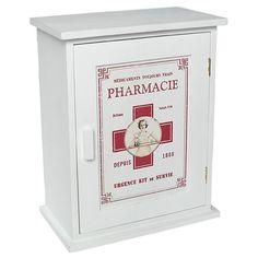 Vintage medicine cabinet from Dotcomgiftshop | Bathroom cabinets | housetohome.co.uk