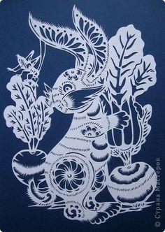 Картина панно рисунок Вырезание Урожай Бумага фото 10