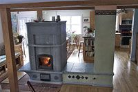 The stove!