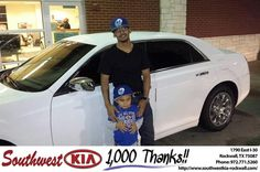https://flic.kr/p/GQdHZe | Congratulations Jonathan on your #Chrysler #300 from Chris Johnson at Southwest KIA Rockwall! | deliverymaxx.com/DealerReviews.aspx?DealerCode=TYEE