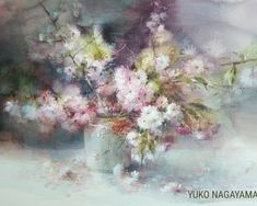 Watercolor Art, Colorful Art, Flower Painting, Water Art, Floral Art, Painting, Watercolor Flowers, Art, Cool Drawings