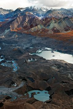 Denali National Park in Alaska, USA