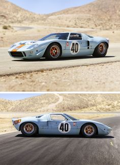 1964 Ford GT40. Ford's answer to Ferrari. 107 were made. In 2014, one sold at auction for $7 million.