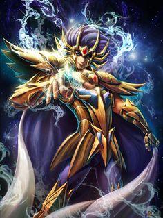 Cavaleiro de Ouro - Mascara da Morte de Cancer by SONICX2011 on DeviantArt