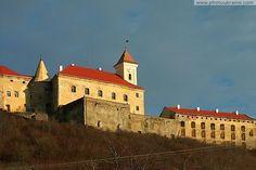 Мукачів. замок Паланок  Ukrainian castle, palace...