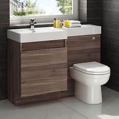 Modern-Walnut-Bathroom-Vanity-Unit-Countertop-Basin-Back-To-Wall-Toilet-MV739