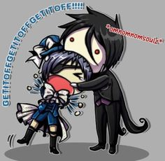 Black butler!!!!! That's not how you eat souls, Bassie.