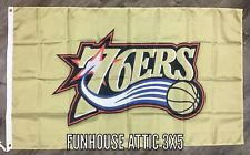 "Philadelphia 76ers NBA Flag 3x5 ft Banner ""Eastern Conference"" Man-Cave NEW"