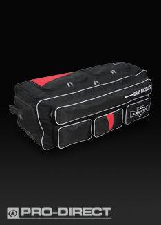 Gray-Nicolls Legend Wheelie Bag - Bags   Luggage -Black-Red 2a756a5a5759b