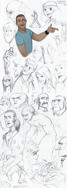 Sketch by bib0un on deviantART ★ Find more at http://www.pinterest.com/competing/