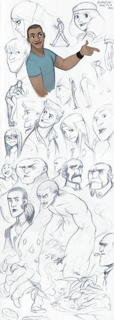 Sketch by bib0un on deviantART