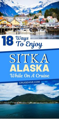 Find how you can enjoy your time in Sitka, Alaska during a cruise vacation. Covering things to do with shore excursions and port details. #sitka #alaska #thingstodo #cruisetips #cruise #cruises #traveltips #cruisetravel