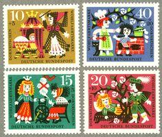 ドイツ切手 1964年発行 ねむり姫 / 海外絵本・古書絵本の通販、フィネサ・ブックス