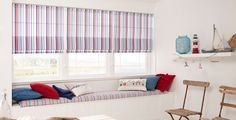 Roman Blinds by Louvolite - Candy Stripe - Cool Mint Curtain Inspiration, Candy Stripes, Roman Blinds, Roller Blinds, French, Cool Stuff, Bedroom, Mint, Google Search