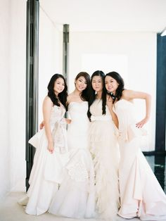 more sodazzling.com | nature's beauty meets ethereal elegance, simplistic, subtle, yet stylish | White bridesmaids dresses | Angga Permana photographer : anggapermana.com