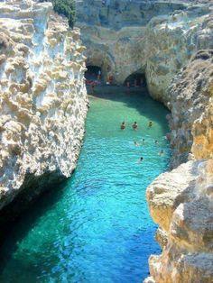 Papafragas Beach in Milos island, Greece