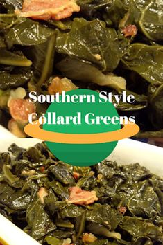 Southern Recipes Recipes by Vance: Recipes – Southern Style Collard Greens How To Cook Collards, How To Cook Greens, Southern Cooking Recipes, Southern Meals, Southern Comfort, Best Collard Greens Recipe, Southern Style Collard Greens, Southern Dinner, Barbecue Recipes