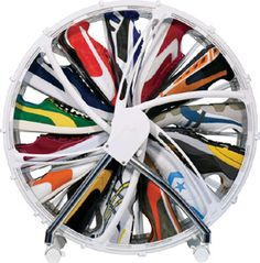 SHOE WHEEL... we need this!!! like 4 of them