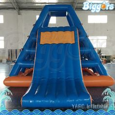 1669.00$  Watch now - http://alitcr.shopchina.info/1/go.php?t=32819783650 - En14690 And CE Certificated Inflatable Water Game Floating Water Slide For Amusement Park With Air Pump  #buyonlinewebsite