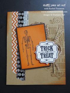 Stampin' Up!® Toil & Trouble card - Stamp Your Art Out!