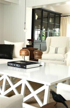 weiß wohnzimmer wohnideen living ideas interiors decoration ... - Landhaus Wohnzimmer Weis
