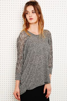 Faded Style Sweater // comes in Gray, Red &  Green // from Urban Outfitters //