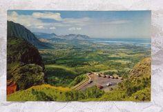 Vintage Postcard Hawaii Hawaiian Nani Li'i Krome 1951 Nuuanu Pali Oahu Precipice #Vintage #postcard #Hawaii #Beach