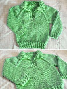 Baby Knitting Patterns Free Newborn, Baby Cardigan Knitting Pattern Free, Knitting Patterns Boys, Baby Sweater Patterns, Free Knitting, Toddler Sweater, Pullover, Crochet, Crafts