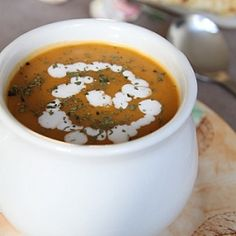 Thai-inspired Butternut Squash Soup: the best part about Winter is the amazing array of soups you can try.