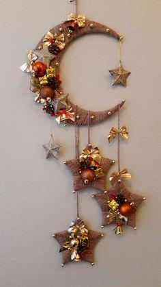 Diy Home Crafts, Decor Crafts, Holiday Crafts, Fun Crafts, Tree Crafts, Holiday Decor, Home Decor, Ramadan Crafts, Ramadan Decorations
