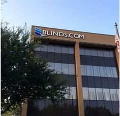 The sign is up and we are officially the Blinds.comPLEX #signage