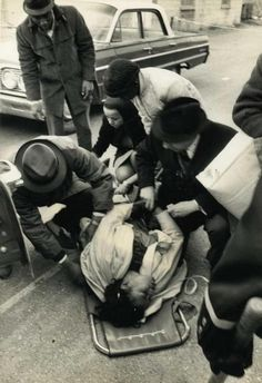 Amelia Boynton-Robinson, beaten, gassed, and left for dead by police in Selma, Alabama during the first Selma to Birmingham voting rights march. 3/17/65. (x)