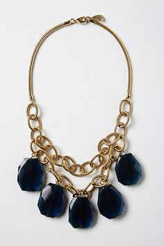 ~Fairburn necklace: Anthro - this sure is a pretty Winter necklace~