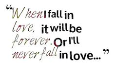 When I Fall in Love - Nat King Cole. Definitely thinking of doing this for the wedding song.