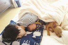 Happy nap by AKIHIROFURUTA