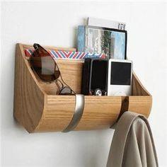 Wandhaken wandgarderobe flur utensilienfach aufh nger for Garderobe umbra