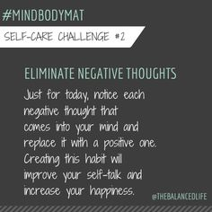 A good habit to have!  This really works!  #mindbodymat @robinlong