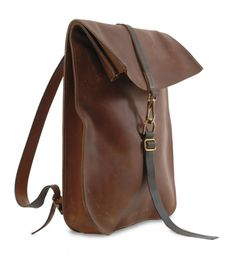 Postal BackPack Dark Tan