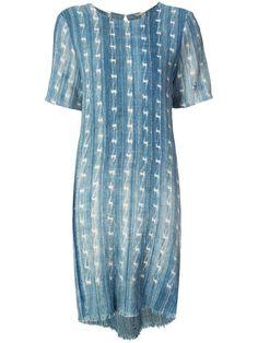 Adam Lippes джинсовое платье