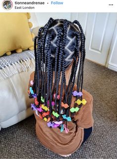 Little Girls Natural Hairstyles, Childrens Hairstyles, Kids Curly Hairstyles, Baby Girl Hairstyles, Toddler Braids, Braids For Kids, Children Braids, Black Little Girls, Cute Little Girls Outfits