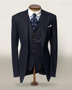 Veste sport en laine à chevrons - Voir tous les vêtements Prêt-à-porter - Ralph Lauren France