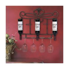 Wine rack/wall decor