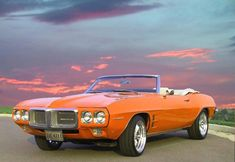68 Firebird convertible. #pontiac