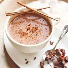 Use your slow cooker to create this hot (in both ways) Aztec Hot Chocolate:  http://www.bhg.com/recipes/slow-cooker/slow-cooker-drinks/?socsrc=bhgpin091314aztechotchocolate&page=1