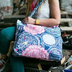 Rachael Taylor - Bohemian Canvas Shopper Bag | tote bag | Pinterest ...
