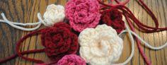 Free Spring Crochet Flower Pattern Rosettes